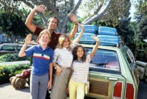 The Griswold family from the National Lampoon's Vacation film series